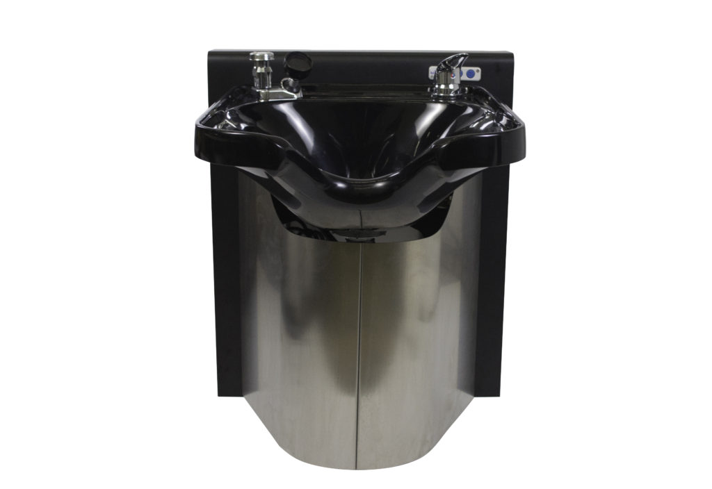 E140 Adjsut-a-Sink with Comfort fit 3050 Shampoo Bowl