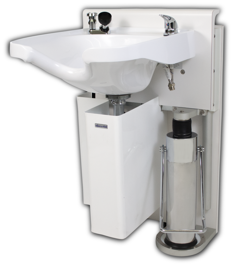 K100V Adjust-a-Sink with Belvedere 8400K Shampoo Bowl