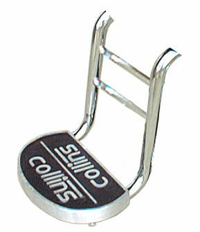 10729 Barber Logo Footrest