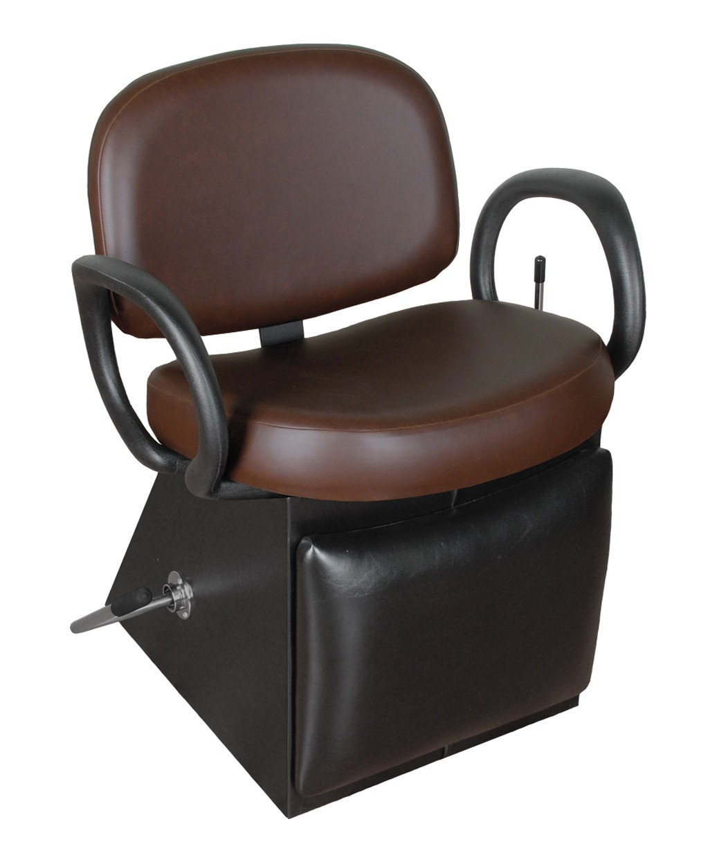1650L Kiva Lever-Control Shampoo Chair with Leg Rest