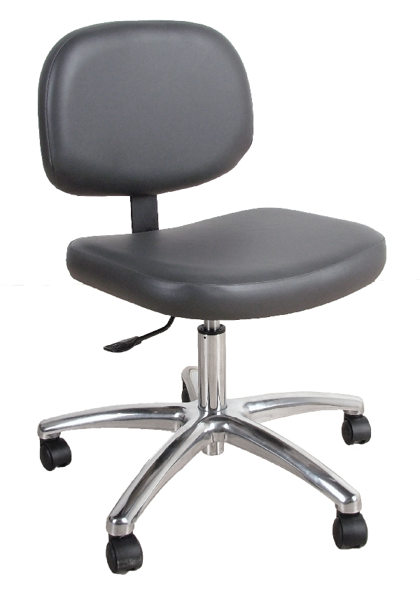 1660 Manicure Stool with Casters And Gas Lift