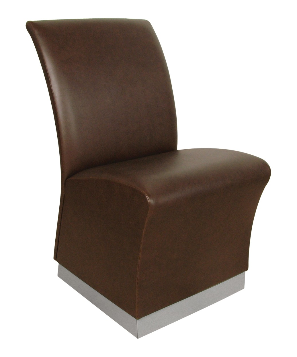 1975 QSE Lanai Reception Chair with Toe-Kick Base