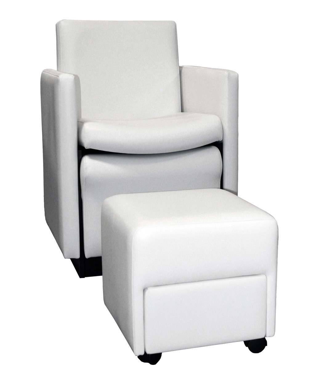 2550 Cigno Club Pedicure Chair with Footsie Bath