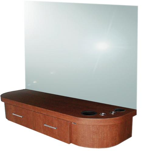 5507-48 QSE Deluxe Wall-Mounted Styling  Station