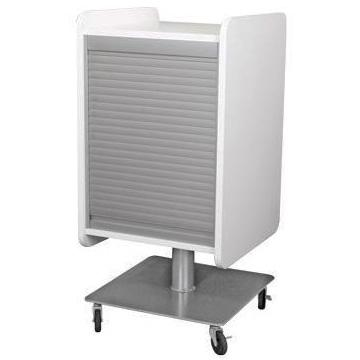 6606-20 Kurve Portable Station w/ Tambour Door and Steel Base