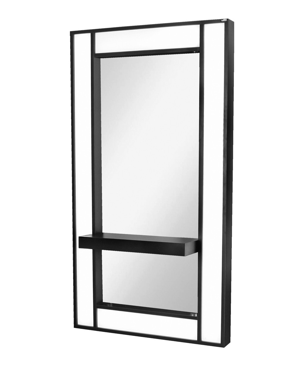 6671-36 Lox Wall-Mounted Mirror w/ Ledge and LED Lights