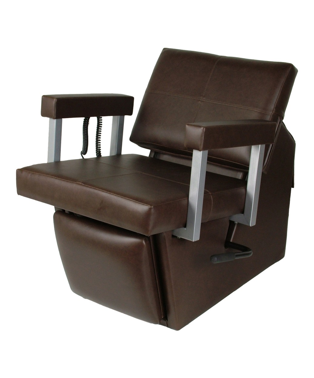 67ES Eletric Quarta Shampoo Chair with Kick Out Legrest