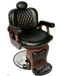 9050 Commander I Barber Chair with Stationary Footrest