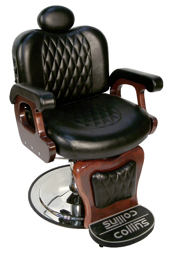 9060 Commander II Barber Chair with Kick Out Footrest