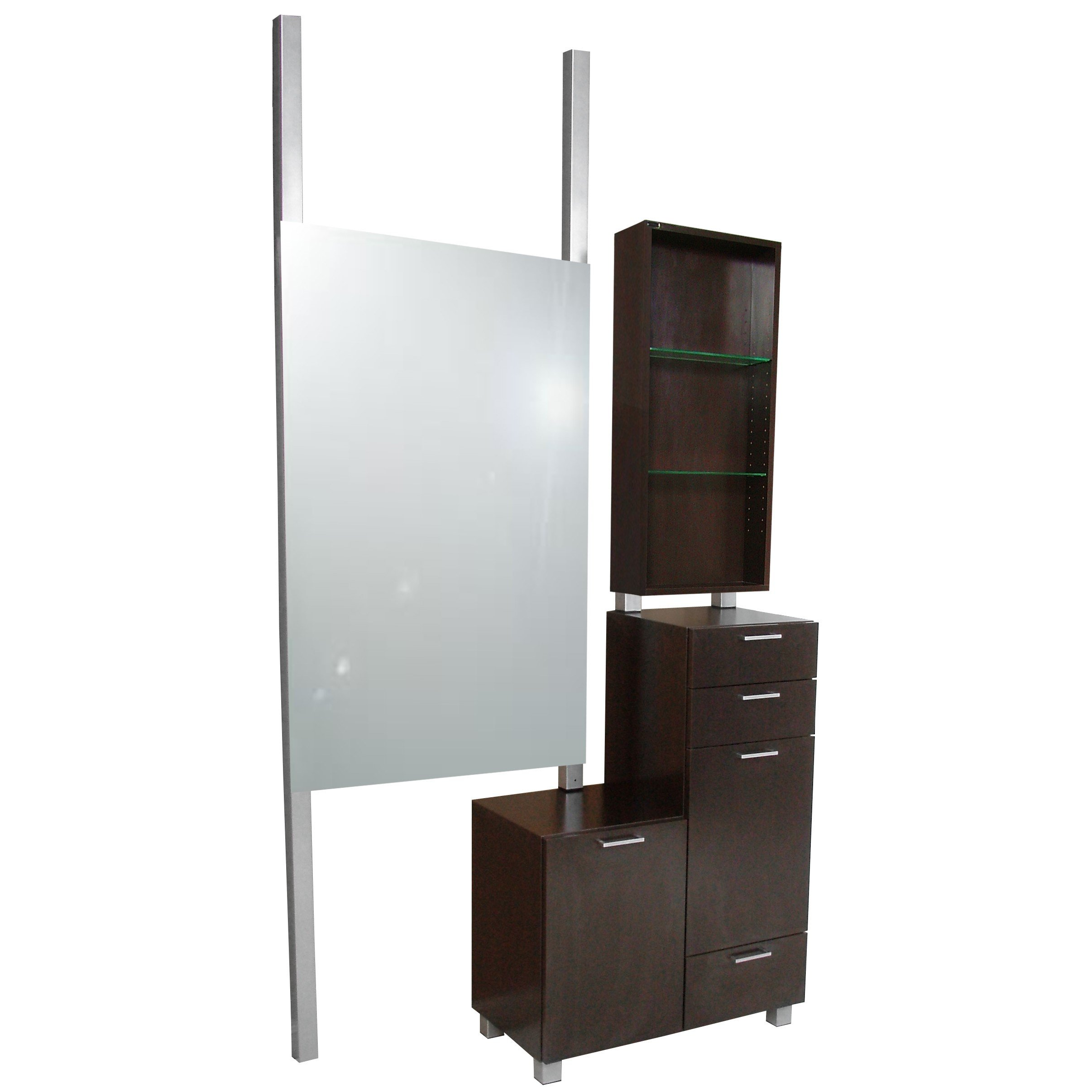 938-48 Amati Bi-Level Styling Vanity with Retail