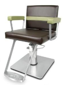 9800X Taress Styling Chair with Square Base