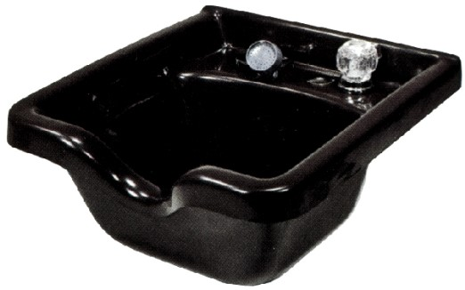 CB 80 Square Wall-Mount porcelain Bowl