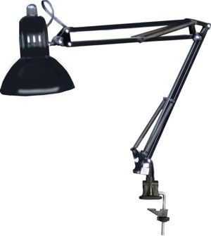 325 Manicure Nail Table Swing Arm Lamp (Black)