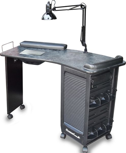 391-V Boomerang Vented Nail Table