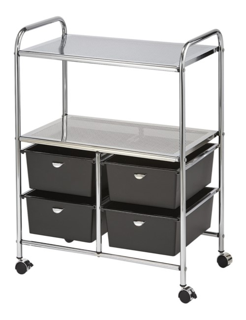 D4B Double Shelf Utility Cart