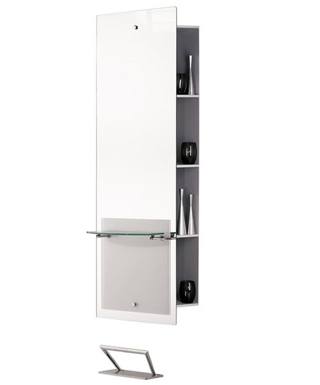 MI020 Lisboa Mirror Styling Station with Storage