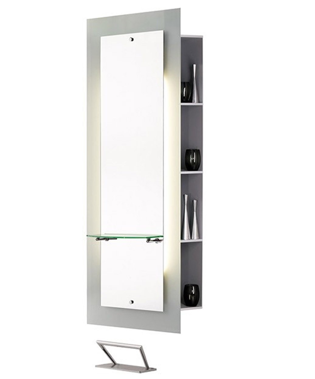 MI050 Lyon Mirror Styling Station with Storage